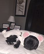 Baxter the Sheep Homemade Costume