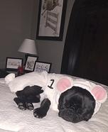 Baxter the Sheep Homemade Costume