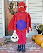 Baymax Homemade Costume