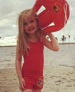 Baywatch Kids Homemade Costume