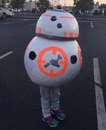 BB-8 Droid Homemade Costume