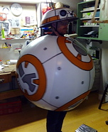BB-8 Star Wars Homemade Costume