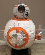 BB8 Homemade Costume