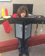 BBQ Grill Homemade Costume