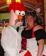 Homemade Beaker Costume