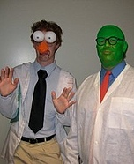 Beaker and Dr. Bunsen Honeydew Costumes