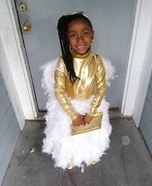 Beautiful Angel Homemade Costume