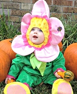 Beautiful Flower Baby Costume