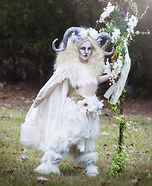 Beautiful Satyr Homemade Costume