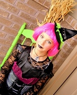 Witch Halloween Costume for Girls