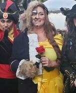 Beauty and the Beast Homemade Costume