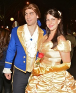 Couples Halloween costume idea: Beauty and the Beast Couple Costume