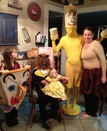 Family costume ideas - Beauty and the Beast Family Costume