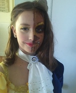 Beauty and the Beast Girl Homemade Costume