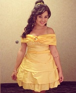 Beauty and the Beast's Princess Belle Homemade Costume
