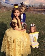 Beauty & The Beast Homemade Costume