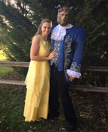 Beauty & The Beast Homemade Costume