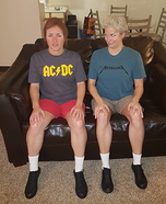 Beavis and Butthead Homemade Costume