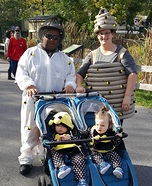 Bee Family Homemade Costume