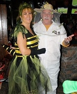 Bee Keeper and his Queen Bee Costume