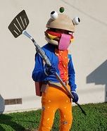 Beef Boss Homemade Costume