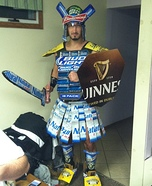 Beer Can Gladiator Halloween Costume