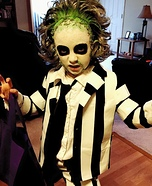 Beetleguise / Beatlejuice Homemade Costume