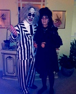 Beetlejuice and Lydia Costumes
