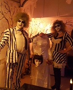 Couples Beetlejuice Costume