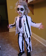 Beetlejuice Halloween Costume for a Boy