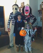Beetlejuice Family Costume Idea