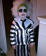 Beetlejuice Boy's Halloween Costume