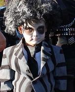 Beetlejuice Boy's Halloween Costume Idea