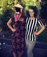 Beetlejuice and Barbara Couple Costume