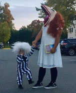 Beetlejuice and Barbara Maitland Homemade Costume
