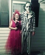 Beetlejuice and his Bride Homemade Costume