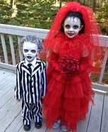 Beetlejuice and Lydia Costumes DIY