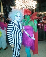 Couple's Beetlejuice and Miss Argentina Costume