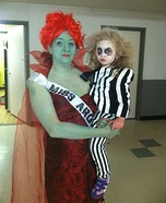 Beetlejuice and Miss Argentina