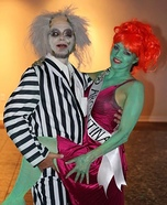 Beetlejuice and Miss Argentina Homemade Costume