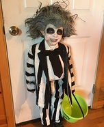 Beetlejuice Boy Homemade Costume