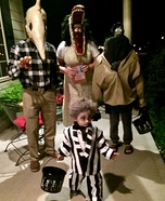 Beetlejuice Family Costume DIY
