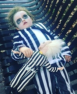 Beetlejuice Girl Homemade Costume