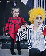 Beetlejuice Lydia Homemade Costume
