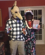 Beetlejuice Maitlands Couple Homemade Costume