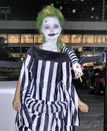 Beetlejuice's Daughter Homemade Costume