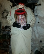 Beheaded Boy Jar Head Homemade Costume