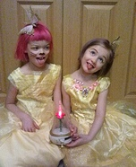 Belle and Belle Kitty Costumes
