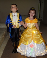 Belle and Prince Adam Costumes