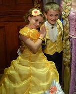 Belle and Prince Adam Homemade Costume